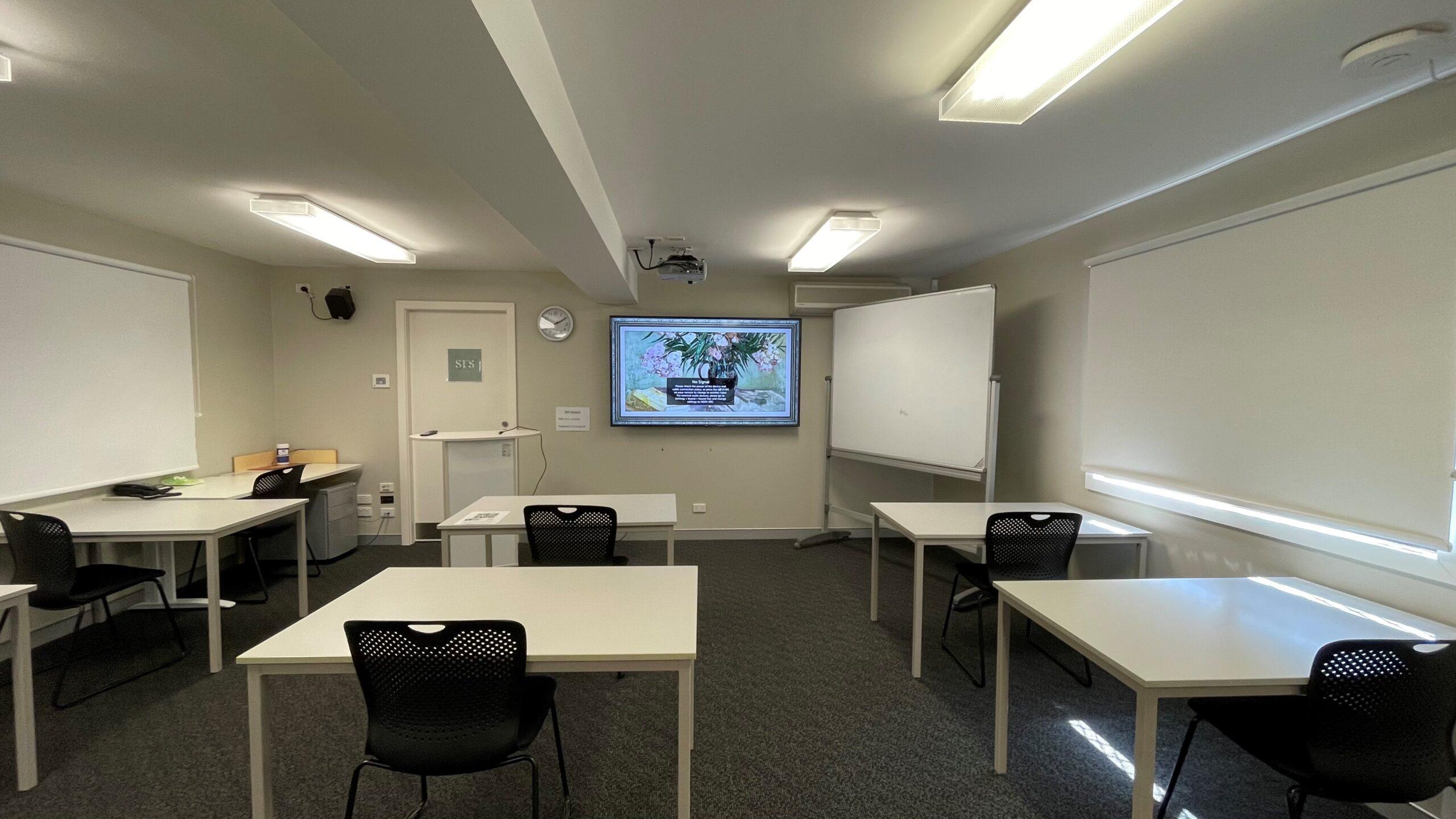Room 8 classroom